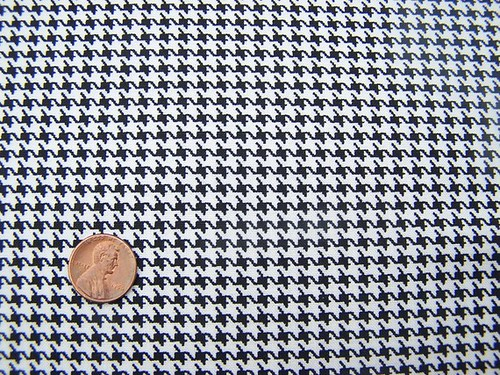 mini houndstooth