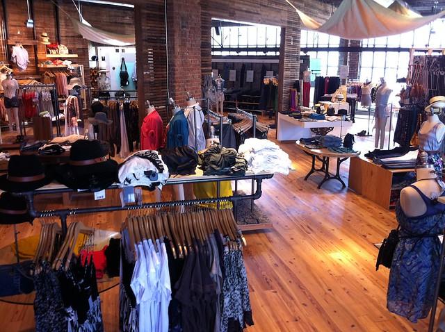 Inside Urban Outfitters, Memphis, Tenn.