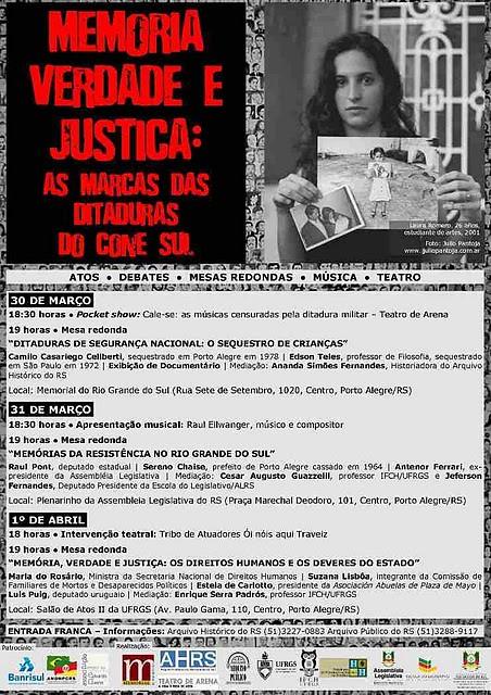 Cartaz final Seminario Memoria Verdade e Justica (1)