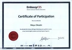 Embassy Certificate