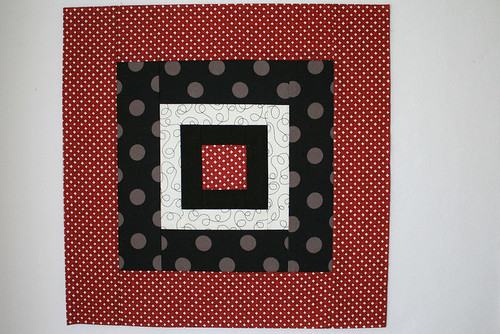 Fat Stash Bee - April block 1 by thecharmingneedle