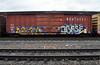 (Laser Burners) Tags: nyc newyorkcity graffiti tracks trains southern rails boxcar sou obese freights nezo citynoise ftv benching