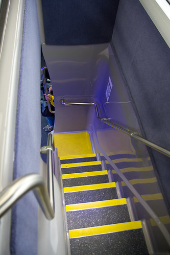 The double tall's stairwell