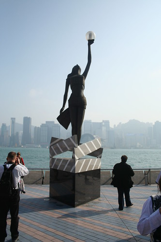 2011-02-25 - Hong Kong - Star walk - 07 - Some tarty statue
