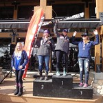 Miele Panorama Spring Series - Ladies Giang Slalom #2 - Overall Podium PHOTO CREDIT: Gregor Druzina
