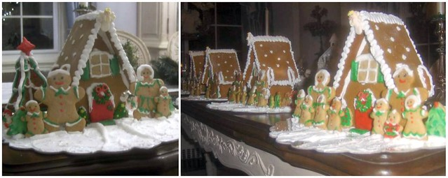 "Gingerbread Houses - ""It Takes A Village"""