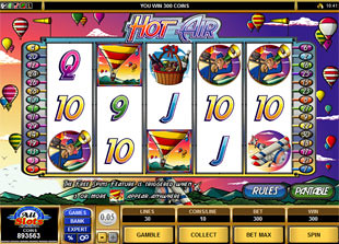 Hot Air slot game online review