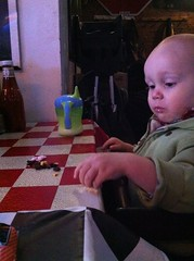 Lunch with Steve.