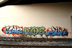 CRIK HIDE MILK (Hahn Conkers) Tags: ohio graffiti milk cleveland hide crik