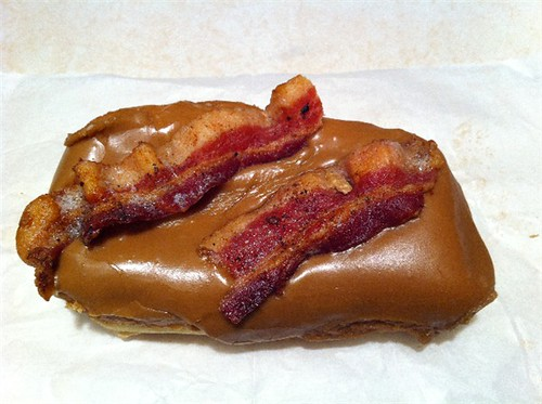 bacon maple bar