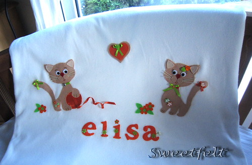 ♥♥♥ Elisa... by sweetfelt \ ideias em feltro