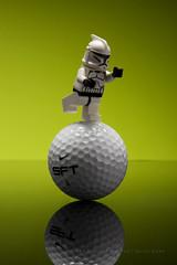 97/365 LEGO Alternative | Balancing Trooper.jpg (egerbver) Tags: reflection green ball golf toy toys actionfigure starwars actionfigures stormtrooper 365 clone golfball clonetrooper leog davideger 365daysofclones