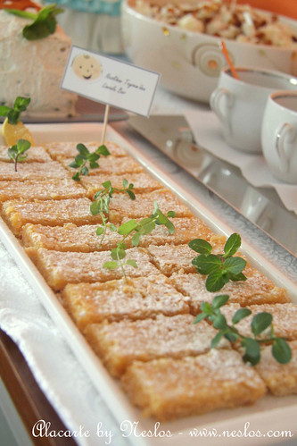 Limonlu Bar (lemon bars)