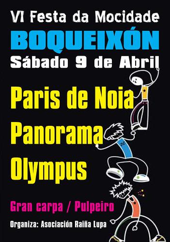 Boqueixón 2011 - Festa da Mocidade - cartel