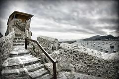 Arriba (puntxote) Tags: wow puerto mar castro nubes subida cantabria arriba piedra urdiales 5photosaday esa 4tografie