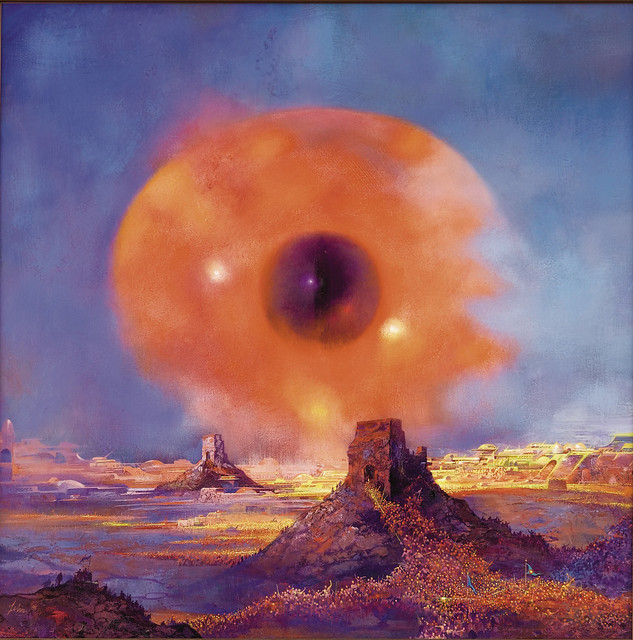 Paul Lehr - Eye Over the Desert, 1991
