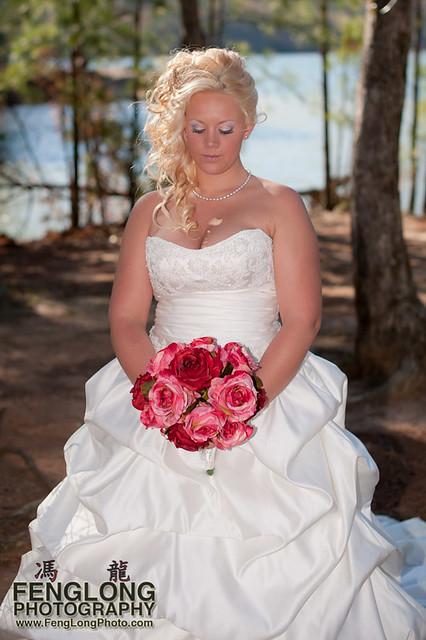 Bridal Portrait | Jennifer & Derek's Red Top Mountain Wedding, Cartersville, Georgia [Atlanta Wedding Photographer]
