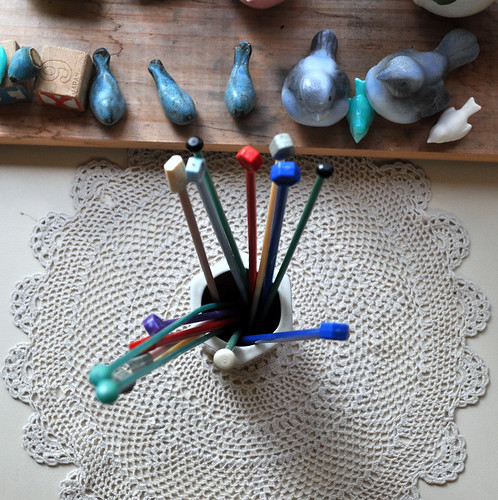 Knitting Needles to make Bangles out of