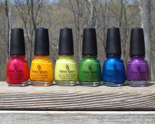 China Glaze Tropical Escape Collection