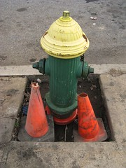 Cones and the Hydrant (Mr. Ducke) Tags: hydrant cones