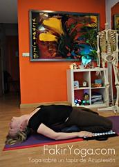 FaKir Yoga, Clases en Madrid, Sobre Tapiz de Acupresión