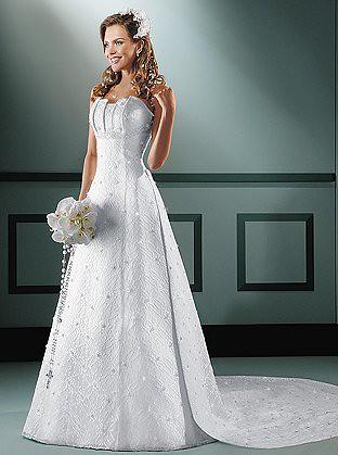 vestidos simples para noivas