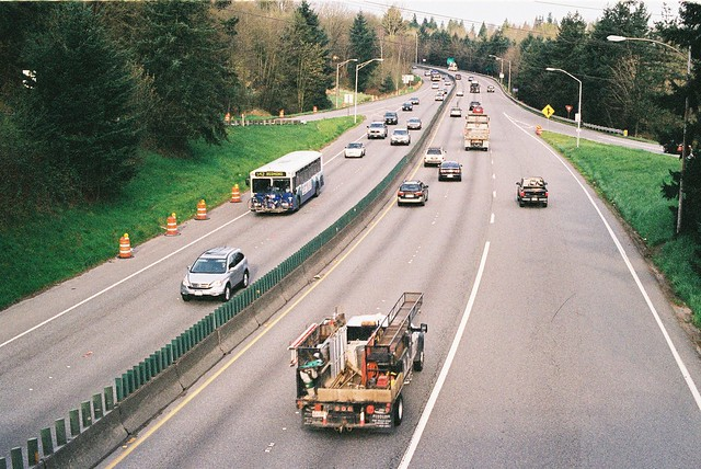 State Route 520 at Bellevue Way