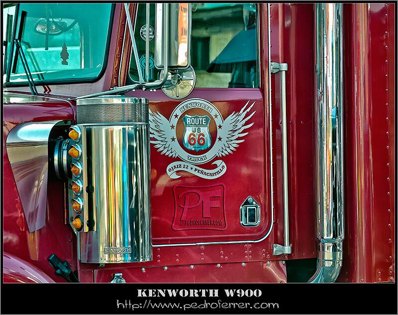 II Truck Show Festival de Torrelavega 2011 - Kenworth W900