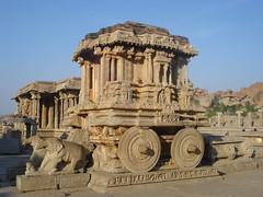 The Stone Chariot,Vittala Temple,Hampi (SujithPhotography) Tags: world travel heritage stone temple site unesco chariot hampi vittala