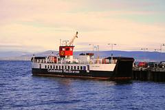 MV Loch Riddon (Little Boffin (PeterEdin)) Tags: slr car ferry canon eos rebel coast scotland clyde boat town marine ramp ship vessel passengers deck coastal nautical dslr westcoast calmac canoneos millport roro singlelensreflex ayrshire largs caledonianmacbrayne clydeestuary northayrshire rollonrolloff 400d rebelxti canoneos400d canonrebelxti canon400d calmacferries mvlochriddon digitalsinglelensreflex roroferry mvlochraodain