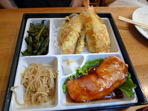 Katsu-Ya's Salmon Dinner Combo