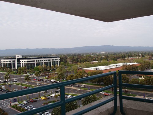 View from the Hyatt, Santa Clara, CA April 2011 by suzipaw