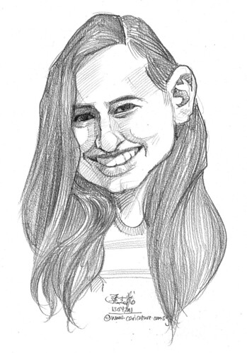 caricature in pencil - 58