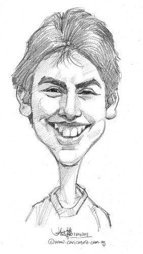 caricature in pencil - 46