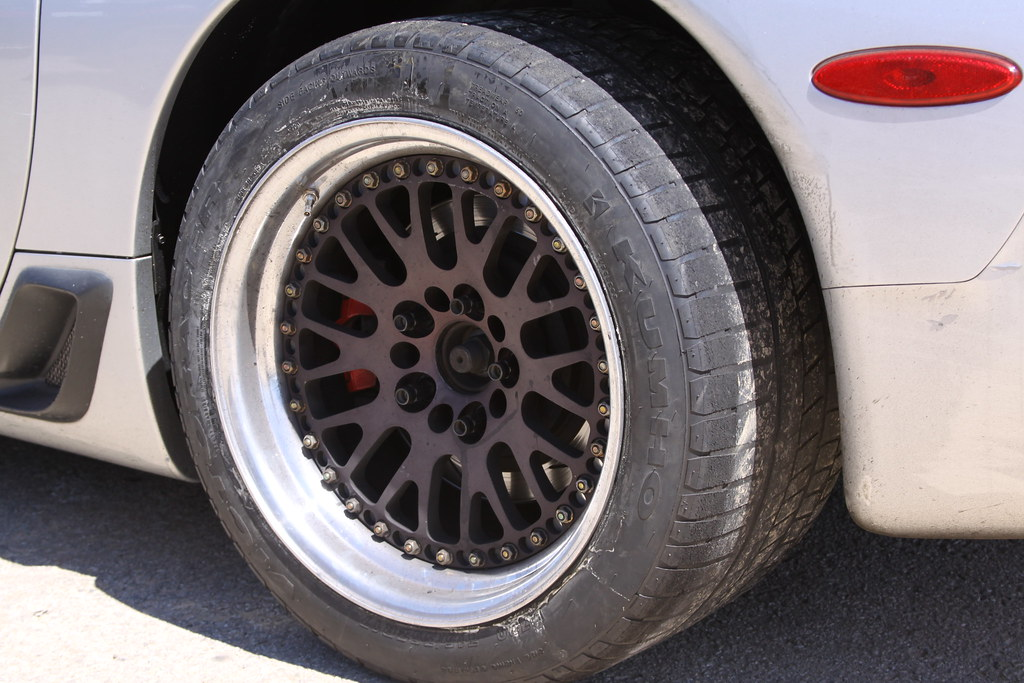 Man, was kumho tires shaved