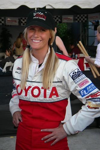Beccy Gordon Toyota Motorsports