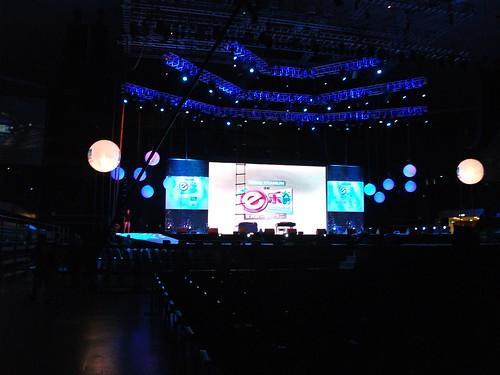 今年e樂在新加坡室內體育館舉辦