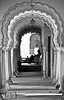 .Peaceful. (.krish.Tipirneni.) Tags: bw india reading mono frames nikon arch peace tomb peaceful arches frame hyderabad tombs hpc andhrapradesh paigah 18200vr paigahtombs