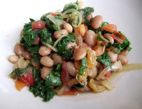 braised beans & kale_01