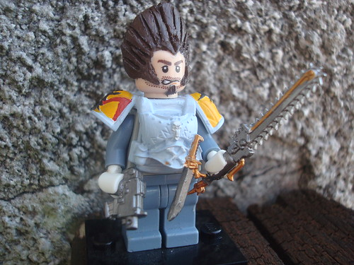 Custom minifig Space wolves