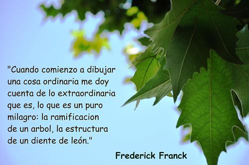 Una cita de Frederick Franck