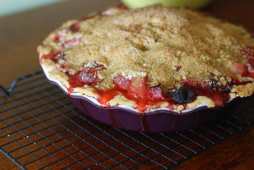 Straw-Rhub Pie