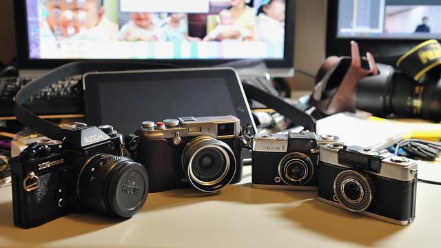 X100與其他傳統相機