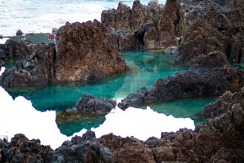 Voulcanic pools in Porto Moniz