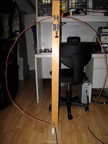 Small loop antenna for HF listening • AmateurRadio com