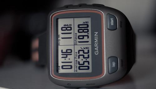 ave5:22 H118 106min 19.8km