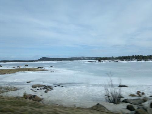 Driving to Inari