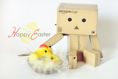 Happy Easter to all! ({LadyB*) Tags: easter happy pasqua danbo ladyb pulcino danboard ladybphotocom ladybphoto
