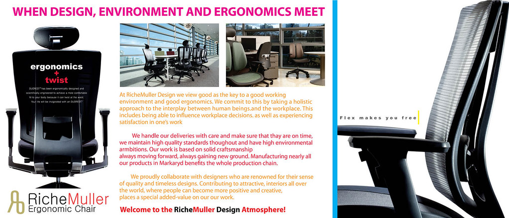 RicheMuller Ergonomic Chair