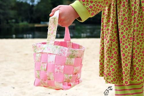 tisket tasket fabric basket